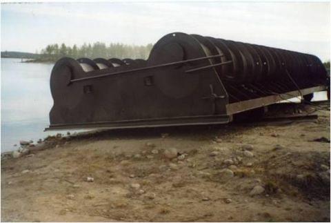 Затвор донного водосброса до ремонта (КПГЭС)